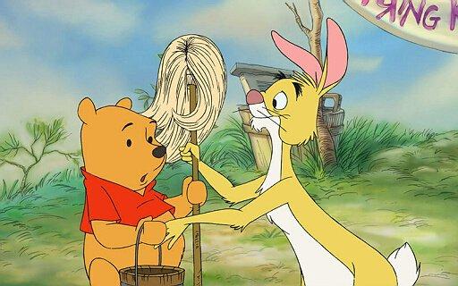 卡通老虎 兔子袋鼠
