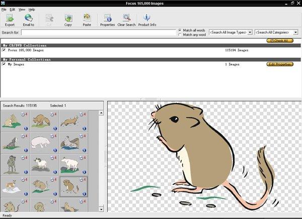 images 资源/《Focus 剪贴画图库》(Focus 115000 Clip Art Images)4CDs(plus...