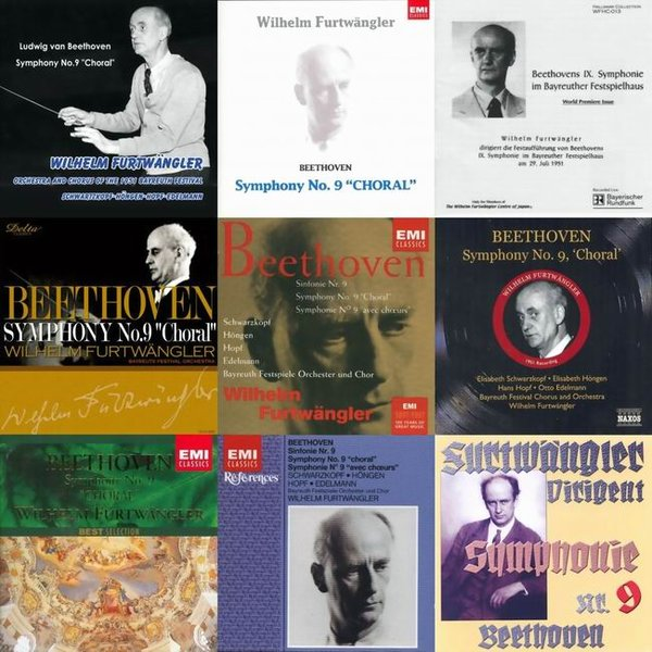 Wilhelm Furtwangler 富特文格勒与贝多芬第9号交响曲 1951...