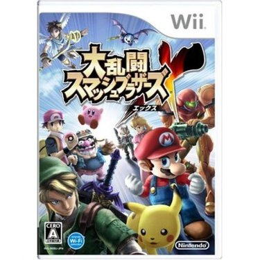 [任天堂明星大乱斗X].Super.Smash.Bros.Brawl.JPN.Wii.游戏封面.jpg